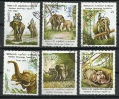 Laos_Elefantes. - Elefantes