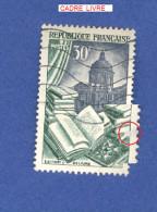 VARIÉTÉS 1954 N° 971 EDITION RELIURE  OBLITÉRÉ - Abarten: 1950-59 Gebraucht