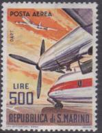 San Marino 1965 Airmail MNH - Ongebruikt