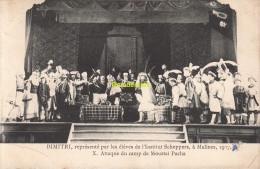 CPA DIMITRI REPRESENTE PAR LES ELEVES DE L'INSTITUT SCHEPPERS A MALINES 1907 MECHELEN MOUSTAI PACHA - Mechelen