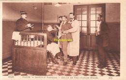 CPA PARIS INSTITUT  (  LOUIS   )  PASTEUR SALLE DE VACCINATION RAGE - Santé