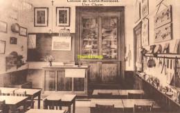 CPA OEUVRE NATIONALE DE L'ENFANCE COLONIE DE CORTIL NOIRMONT UNE CLASSE - Chastre