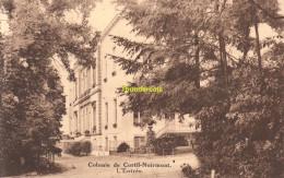 CPA OEUVRE NATIONALE DE L'ENFANCE COLONIE DE CORTIL NOIRMONT L'ENTREE - Chastre