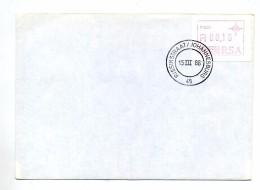 Lettre Cachet Johannesbourg Sur Distributeur - Afrique Du Sud (1961-...)