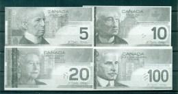 Banque Enfantine. Billets De 5. 10. 20. 100 Dollars, Imprimé 1 Face. 98 Mm X 47 Mm, état Neuf - Canada