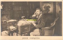 CPA CARTE DE PHOTO COLLECTION DORNAC JULES CLARETIE LIMOGES PARIS - Ecrivains