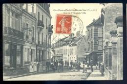 Cpa Du 78  Conflans Saint Honorine -- Rue De L' Hôtel De Ville   LIOB50 - Conflans Saint Honorine
