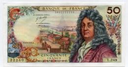 Billet De 50 FRANCS.type .RACINE.SPL-SPLENDIDE.5-9-1974.alphabet Y.249 - 1962-1997 ''Francs''