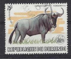 Burundi 1983 Animal Protection Year 75f (o) - Burundi