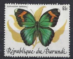 Burundi 1984 African Butterflies 65f (o) - Burundi