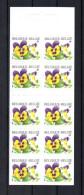 CARNET NEUF** DE FLEURS C2936  PENSEES - Carnets 1953-....
