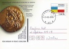 Poland Pologne Postal Stationery, Year Of Ukraine, Ancient Coin, Gold Stater From Odessa, Archeology, 1998. - Coins