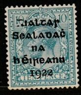 "Irlande  ""1922""  Scott No. 8  (N*)  ($$) - 1922-37 Estado Libre Irlandés"