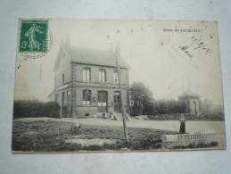 62 CUINCHY LA GARE 1908  CIRCULEE   ETAT  CORRECT  DOS  DIVISE - France