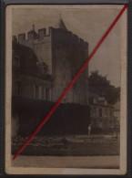 76 ORCHER -- Le Chateau Et La Fontaine Du Jardin _ (Photo Originale) - Places
