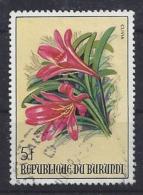 Burundi 1986 Flowers 5f (o) - Burundi