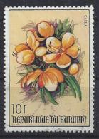 Burundi 1986 Flowers 10f (o) - Burundi