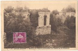 -08- CHARLEMONT Ruines De L'église Paroissiale  Timbrée TTB - Altri Comuni