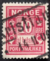 Norway    Minr. 3  KRISTIANIA              ( Lot C 2174 ) - Port Dû (Taxe)