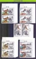 Mwe2225 FAUNA VOGELS PLOVER OYSTERCATCHER CURLEW BIRDS VÖGEL AVES OISEAUX ALDERNEY 1984 PF/MNH - Verzamelingen, Voorwerpen & Reeksen