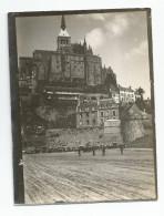 Photographie Mont Saint St Michel - 50 - Manche Photo 9 X11,8 Cm - Unclassified