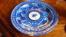 Plat Ancien Restauré - Ceramics & Pottery