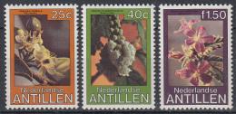 Ned. Antillen - Florazegels - Palu Vénénu/Basóra Pretu/Basóra Kòrá - MNH - NVPH 633-635 - Curaçao, Nederlandse Antillen, Aruba