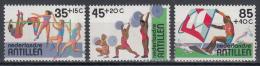 Ned. Antillen - Sport -Hoogspringen/Gewichtheffen/Surfen - MNH - NVPH 735-737 - Curaçao, Nederlandse Antillen, Aruba