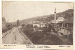SERBIE - KATCHANIK Panorama Bulgare - Serbien