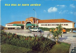 VILA REAL DE SANTO ANTONIO (Algarve) Posto Fronteiriço, 2 Scans, PORTUGAL - Faro
