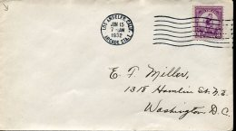7668 U.s.a.  Fdc 15 June 1932, Of The Stamp 3c. Athletic, Olympiade Of Los Angeles 1932, Cover Circuled