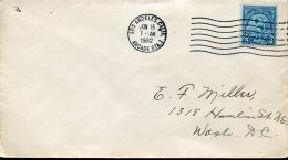 7669 U.s.a.  Fdc 15 June 1932, Of The Stamp 5c. Discobolo , Olympiade Of Los Angeles 1932, Cover Circuled
