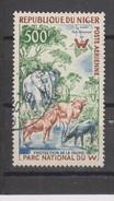Yvert Poste Aérienne 18 Oblitéré Animaux Animals - Niger (1960-...)