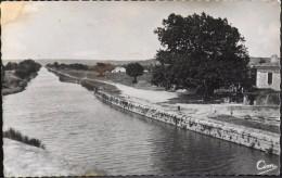 C.P.S.M. - GARD - BELLEGARDE - Le Canal Du Pont D'Arles - En BE - Bellegarde