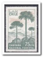 Chili 1967, Postfris MNH, Trees - Chili