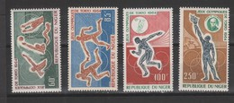 Yvert Poste Aérienne 45 / 48 * Neuf Charnière JO Tokyo 1964 - Niger (1960-...)