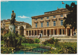 THE ROYAL PALACE, CORFU. UNPOSTED - Grecia