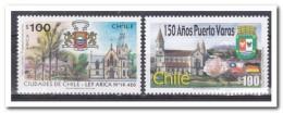 Chili 1996, Postfris MNH, Trees, Flowers - Chili