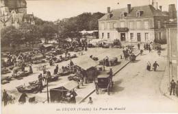 85 - Luçon (Vendée) - La Place Du Marché - Lucon