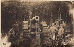 10399-MILITARI E CANNONE-PRIMA GUERRA-FOTO - Guerre, Militaire