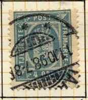 Danemark 1875-1902 Y&T Service 6 D 12 1/2 ° - Service