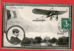 Circuit De L'Est  Monoplan Blériot  MORANE - AMIENS - 1910 - - Amiens
