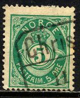 Norvège 1883-90 Y&T 38 ° - Norvège