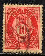 Norvège 1883-90 Y&T 39 ° - Norvège