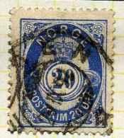 Norvège 1883-90 Y&T 43 ° - Norvège