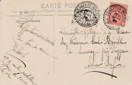 Boitier Facteur Type 1884 - MONNETIER -MORNEX (haute Savoie  )- Scan Recto-verso - Storia Postale