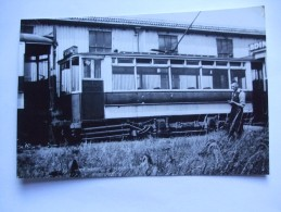 TRAM FALKIRK AND DISTRICT CAR No. 17 1936 - Trains