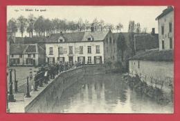 "Diest - Le Quai  - Magazyn "" Arthur Plage ""  - 1914 ( Verso Zien ) - Diest"