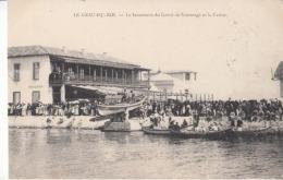 Dep 30 - Le Grau Du Roi - Le Lancement Du Canot De Sauvetage Et Le Casino  - Carte Precurseur : Achat Immédiat - Le Grau-du-Roi