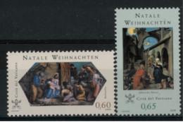 *B6* - VATICANO 2008 - Natale. Dipinti Di Albrecht  Dufrer E Raffaello Sanzio - 2 Val. MNH** - Perfetti - Vaticano